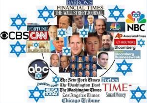 Exemple d'un pays totalement contrôlé par les médias juifs.