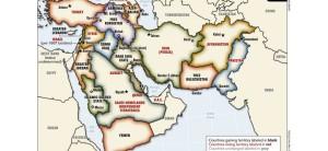 Partout la même technique de démembrement des états puissants pour en faire des régions ethniques plus faciles à vassaliser