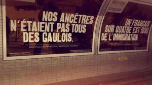 Un exemple de propagande. La France est un pays gaulois ne leur en déplaise.